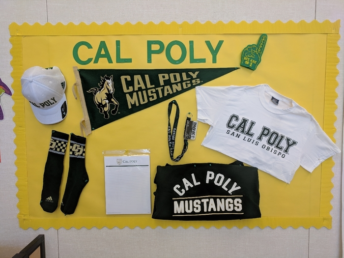 Cal Poly swag