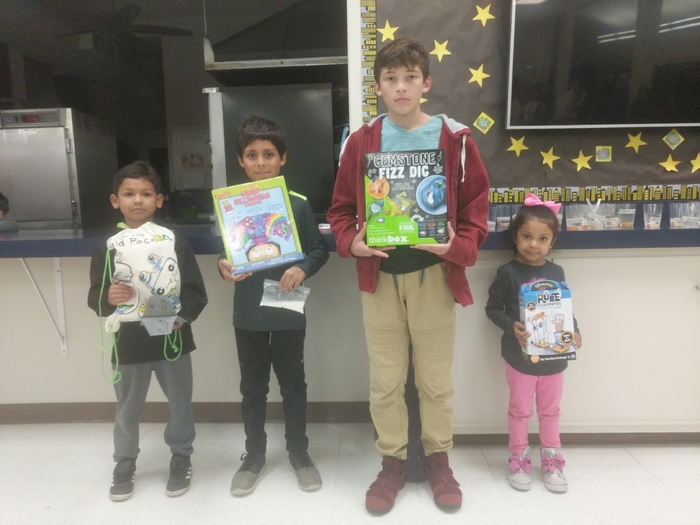 Science Night Winners