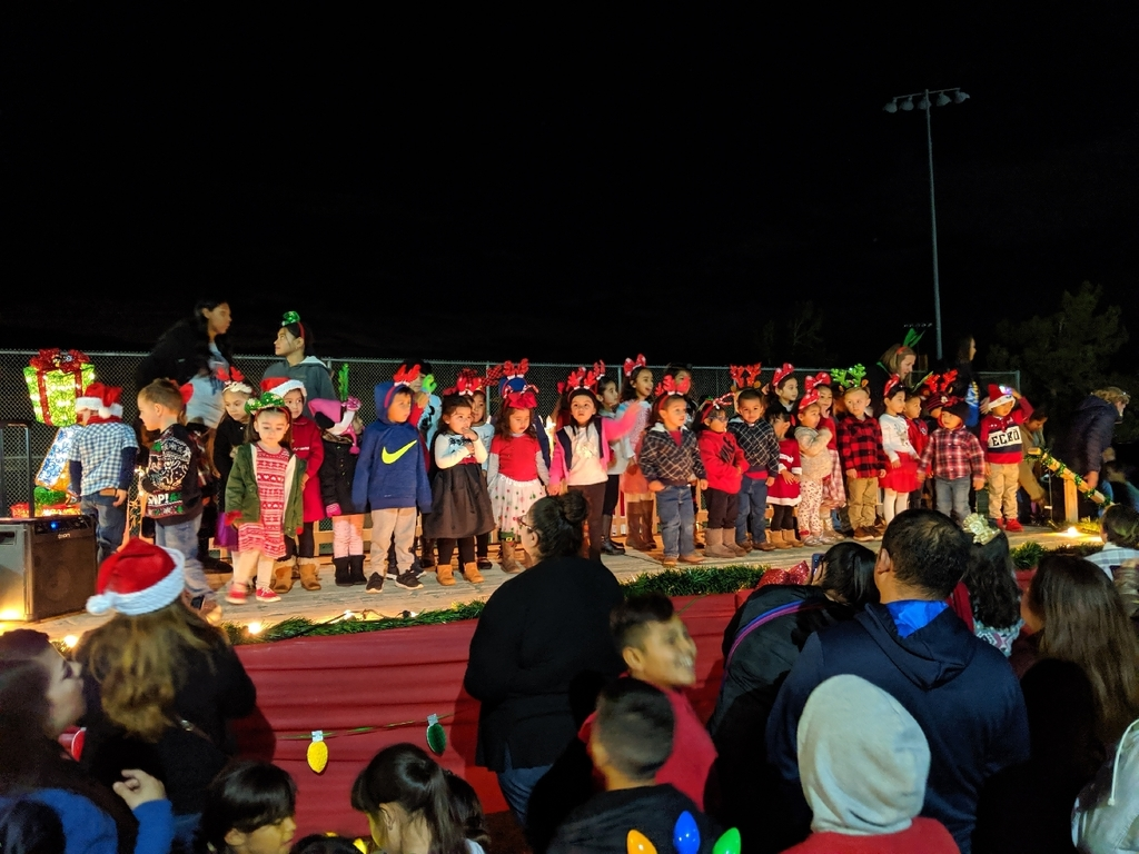 Preschool Tree Lighting