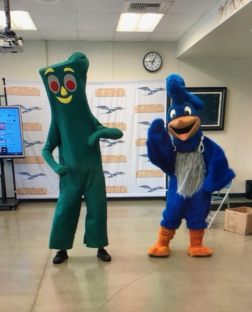Gumby and Roady